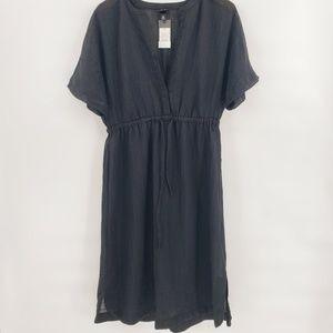 Mossimo Sheer Black Swim Cover Dress